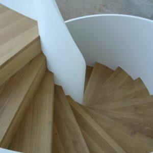 Holztreppe Von Oben Fotografiert