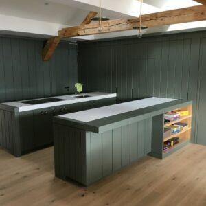 Küche In Grün