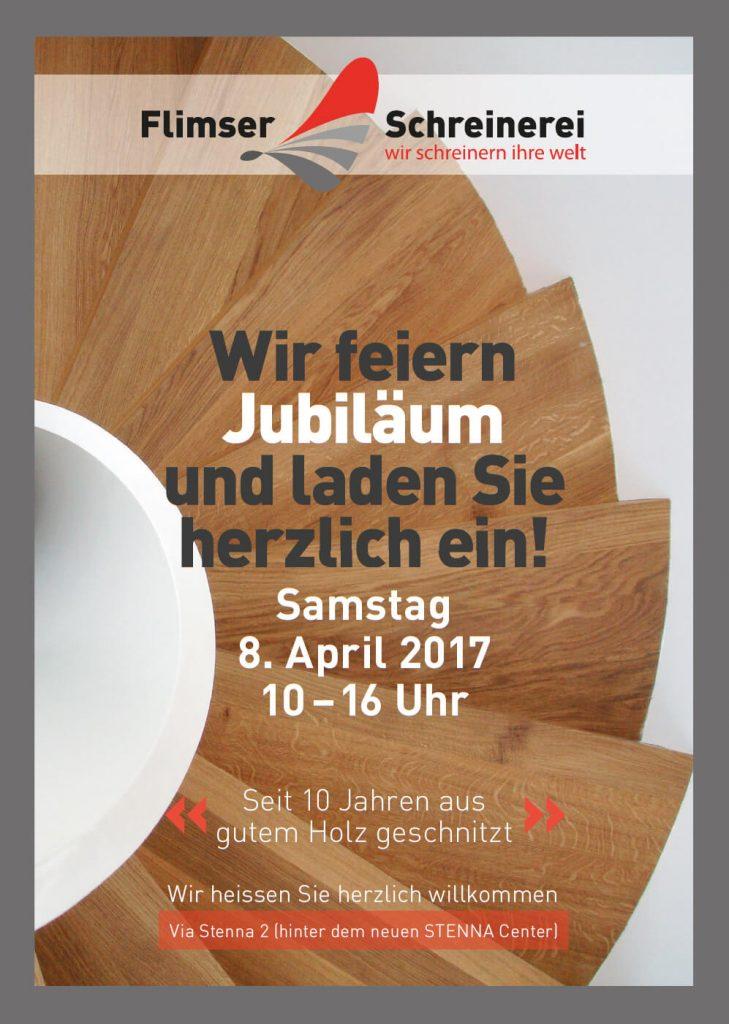 Flyer Jubiläum