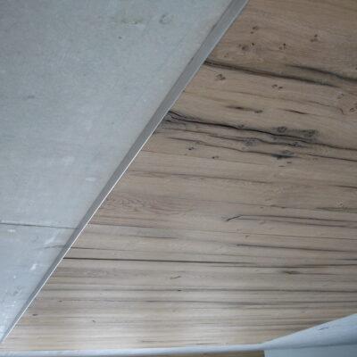 Wandbelag Decke